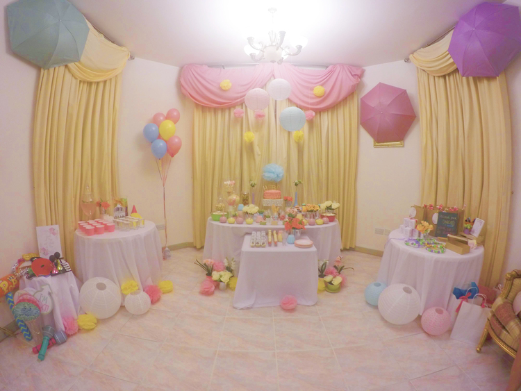 Pastel Themed Bridal Shower