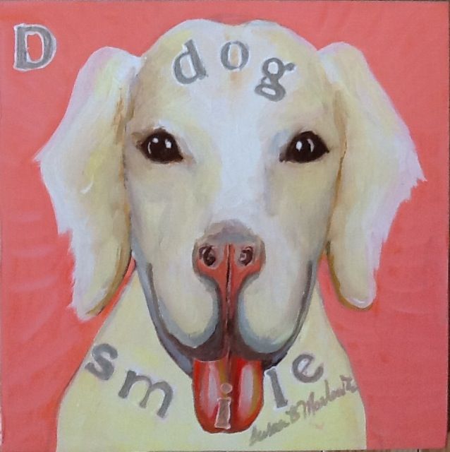 D is for Dog Smile