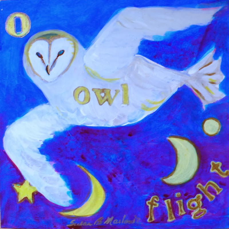 O is for Owl Flight