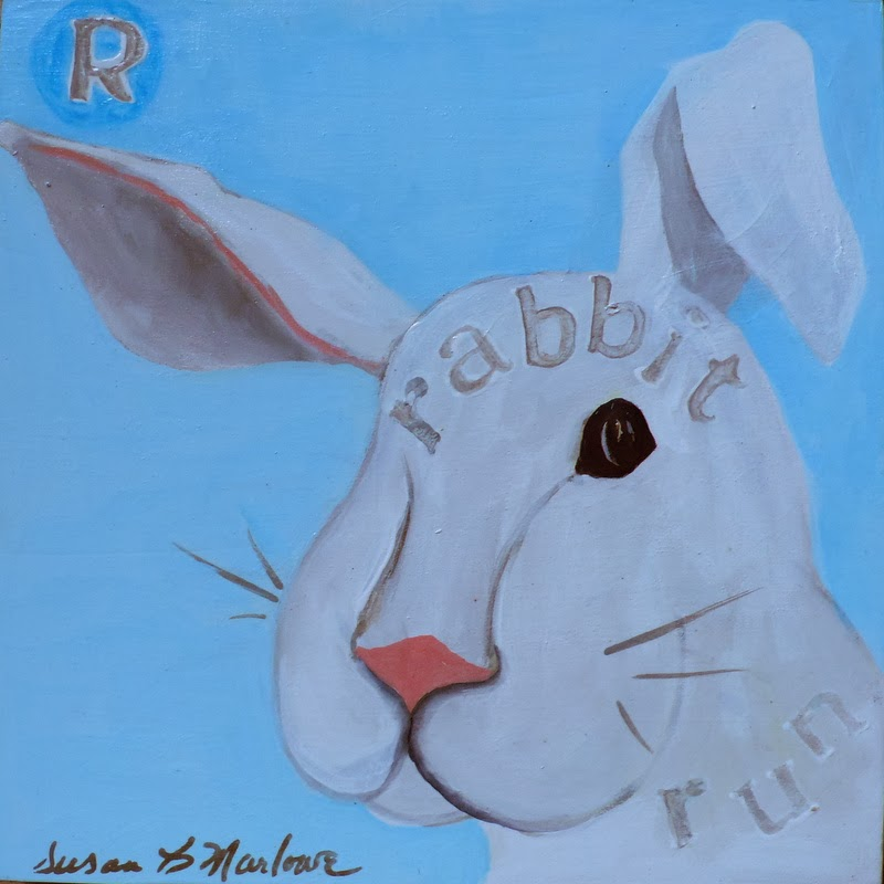 R is for Rabbit Run