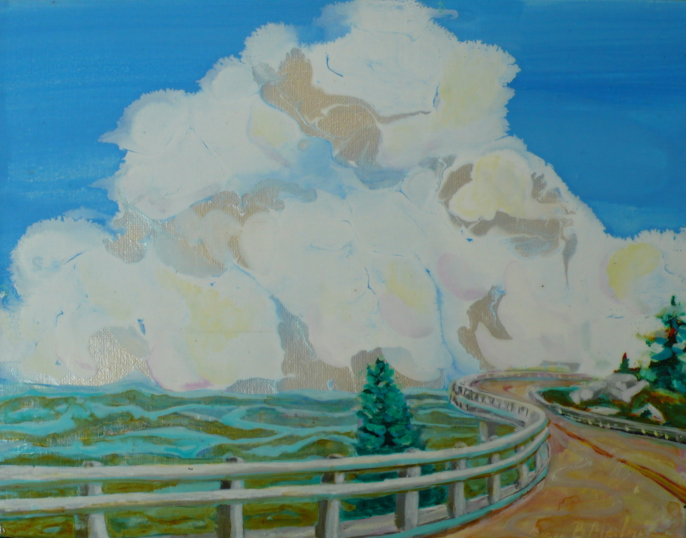 Cloud Study with Viaduct