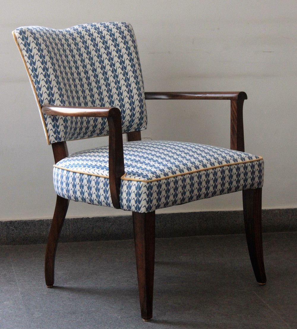 blue crane shimla chair