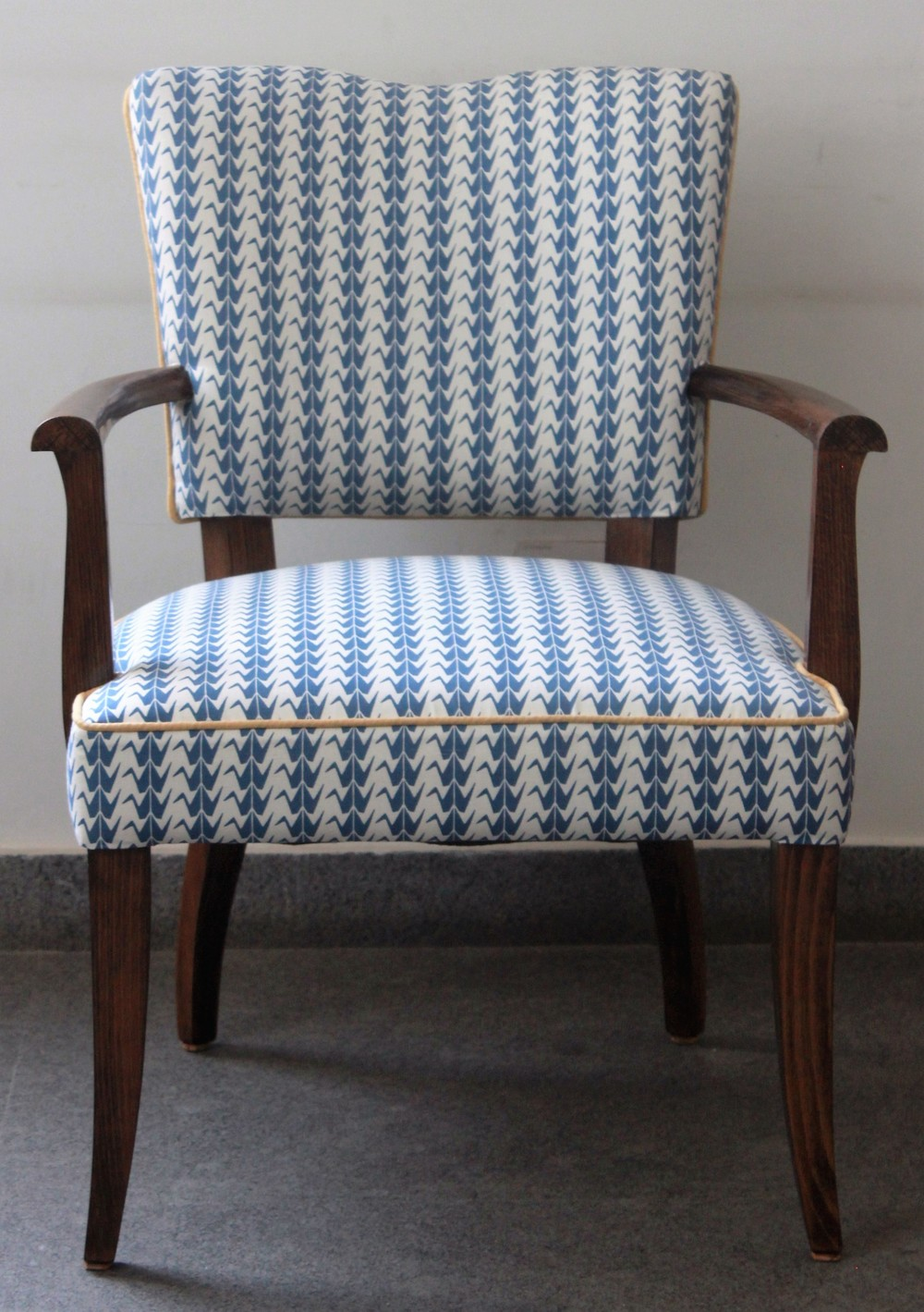 blue crana shimla chair