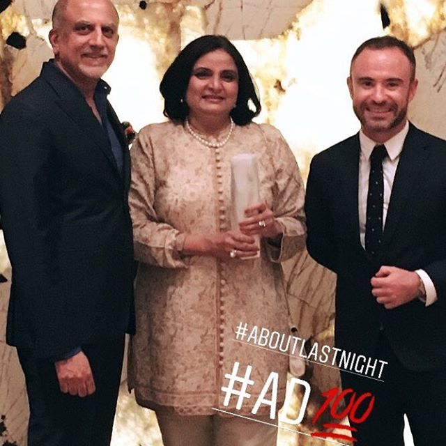 Thank you for the lovely evening @archdigestindia ... last night in the Trophy room #architecturaldigest #ad100     @alexkuruvilla alexkuruvilla @iqrupdhamija @greg.foster