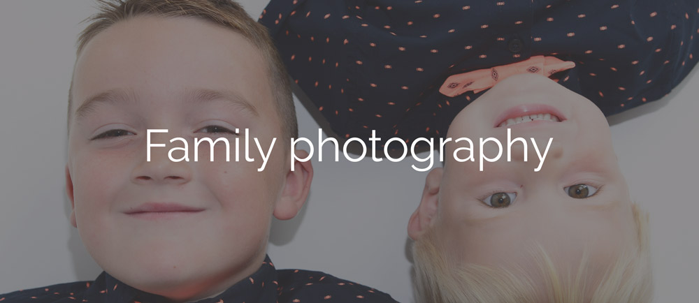 Family photography north wales