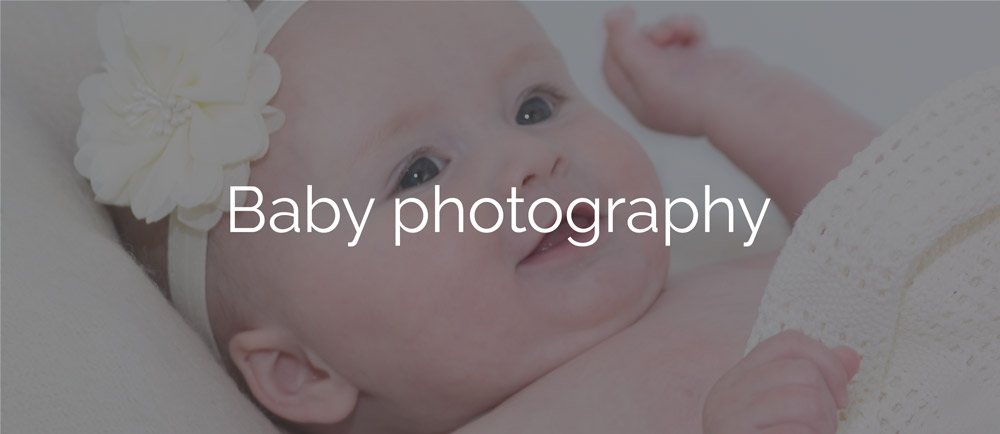 Baby photography north wales