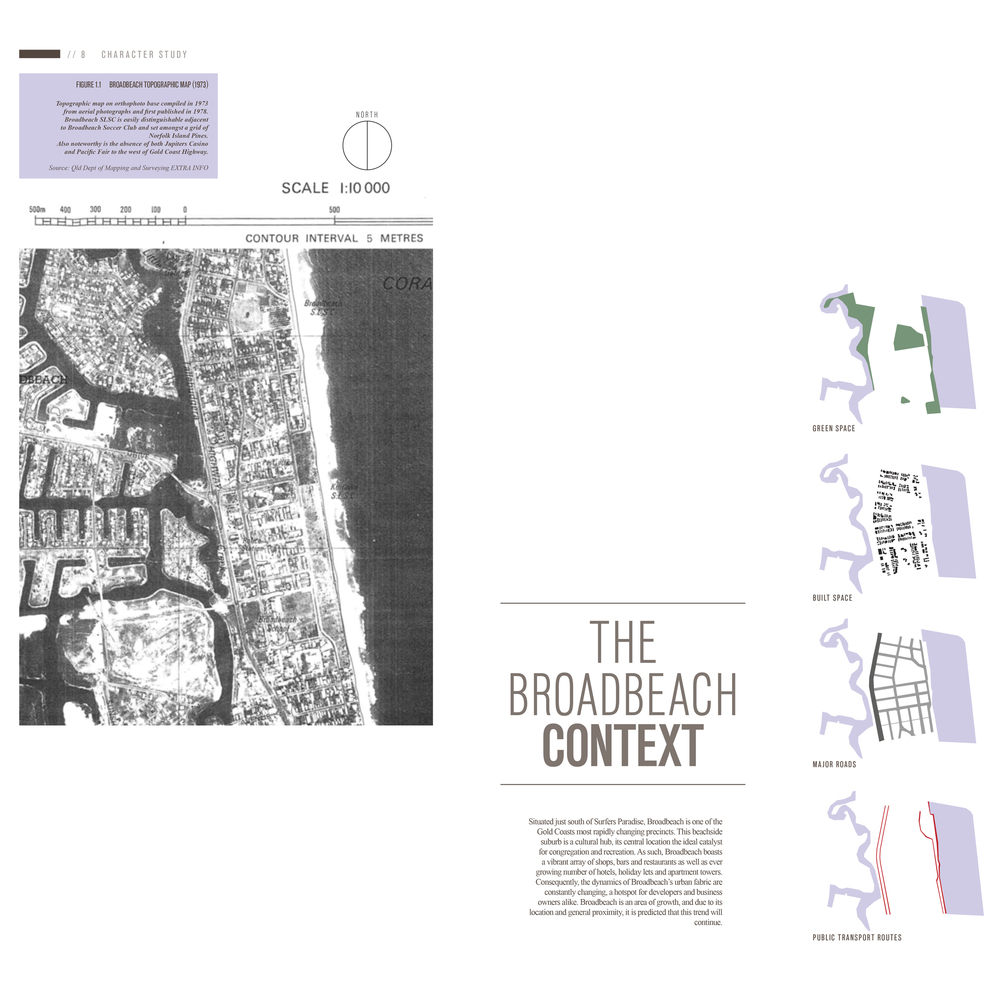 A large research report was undertaken to understand the context of the area. The morphology of the area was investigated.