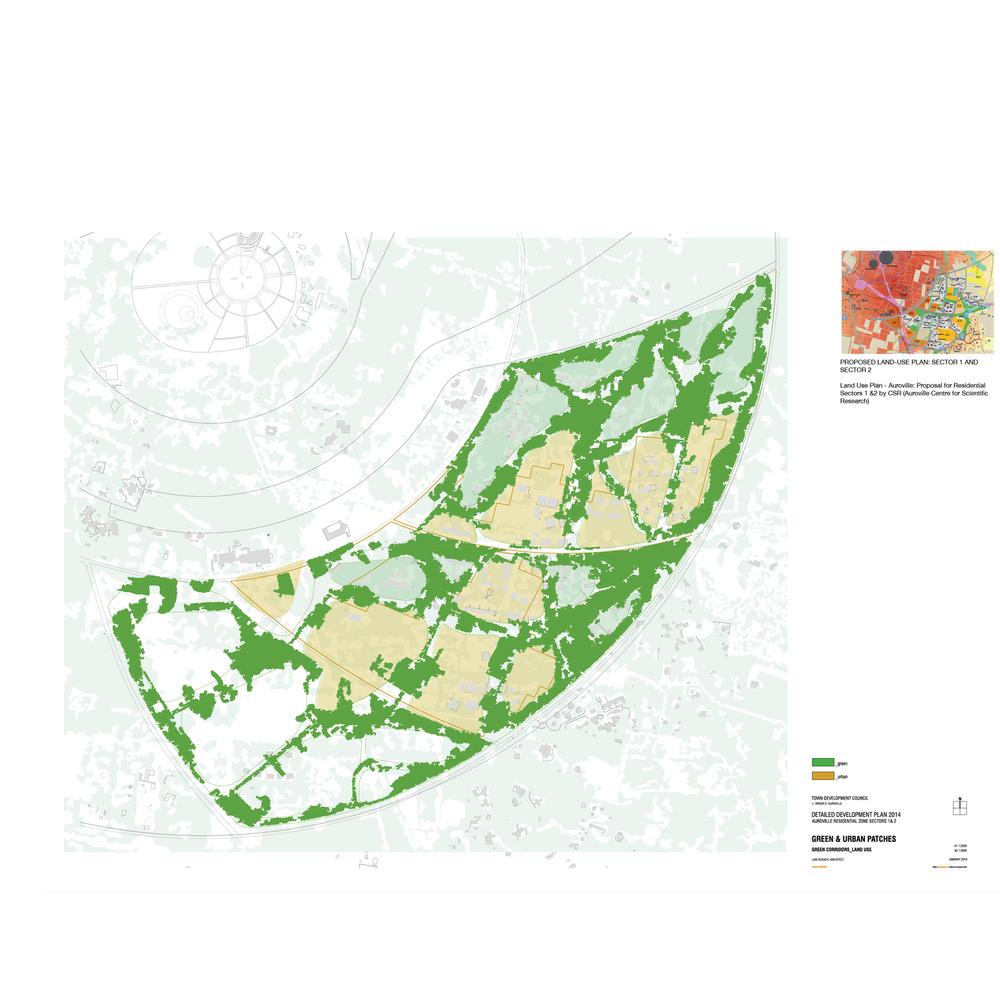 Proposed green corridor typologies.