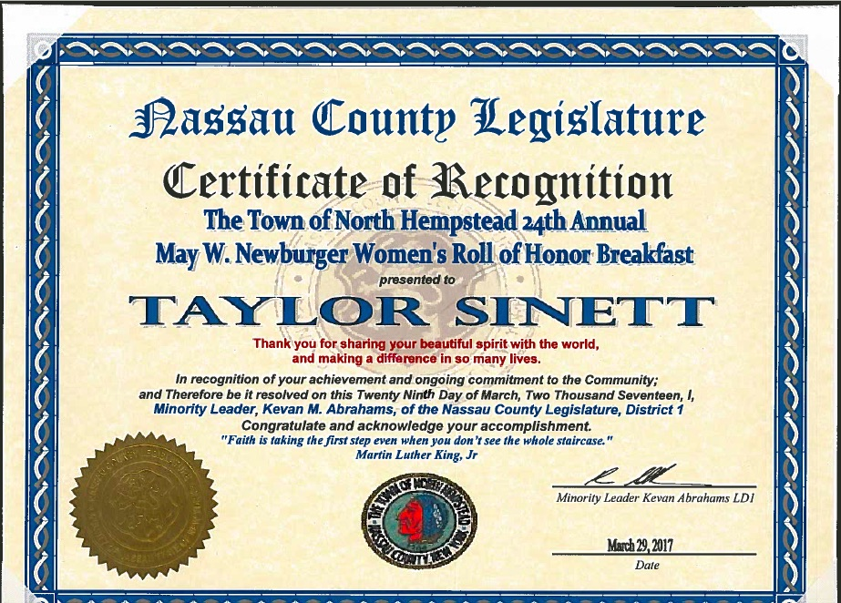 Taylor Sinett women's honor.jpg