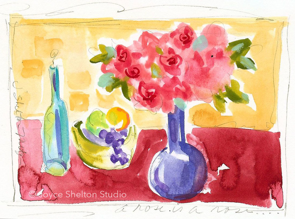 Watercolor Sketching @ joyceshelton.com