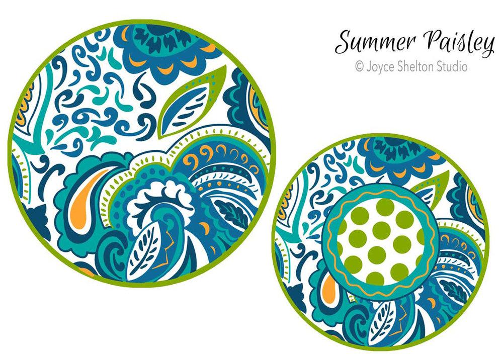 Summer Paisley ©Joyce Shelton