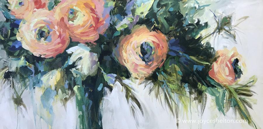 Flowers For Rachel • SOLD