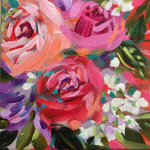 30/30 Day 18 • 8X8 Acrylic On Art Panel