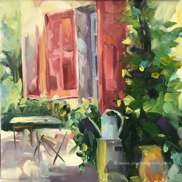 Sacred Grove Acrylic On Canvas