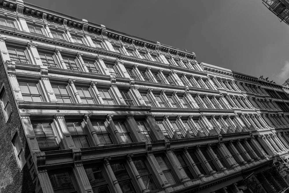 The endless beauty of SOHO windows.