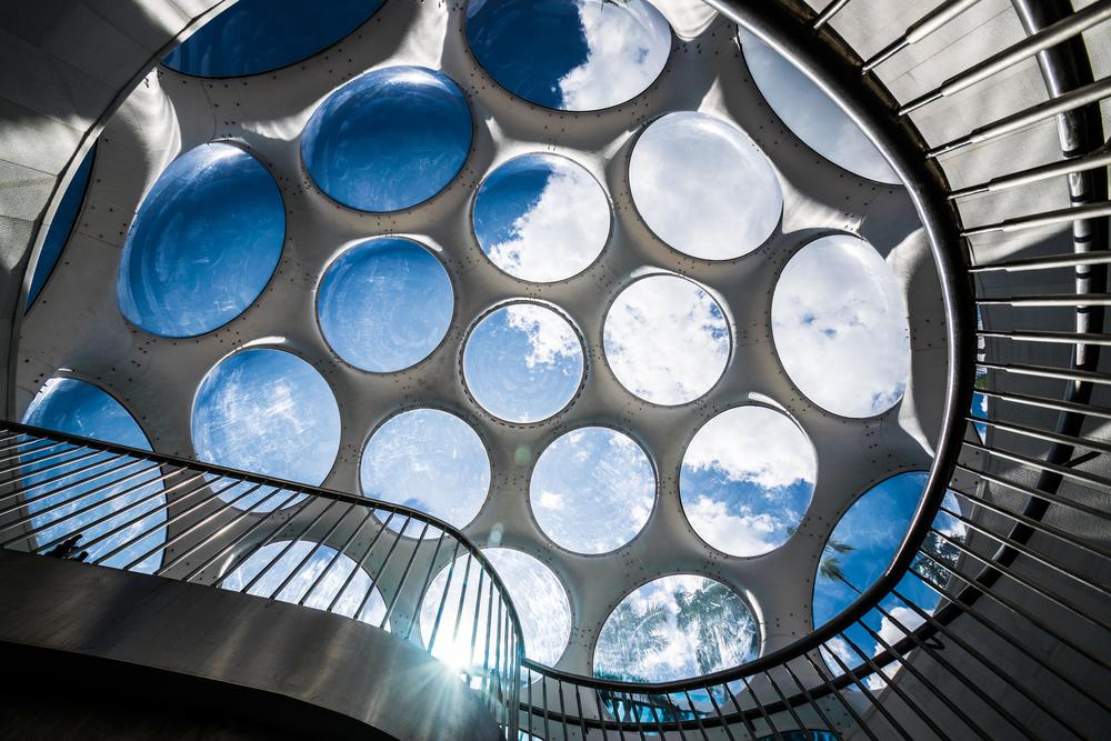 Fly's Eye Dome  by Buckminster Fuller