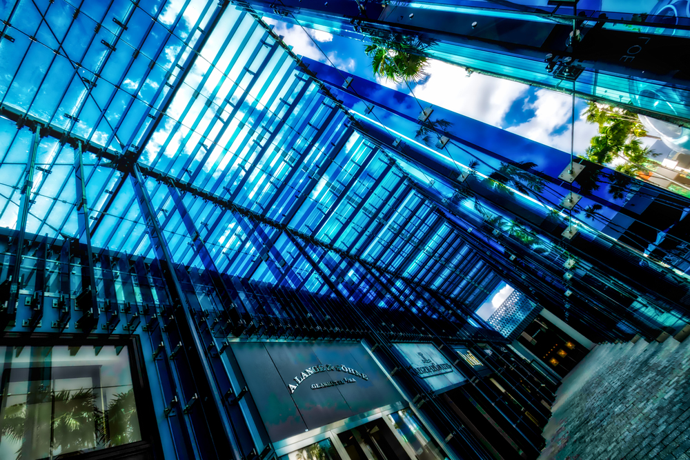 Amazing glass  façade by Suo Fujimoto