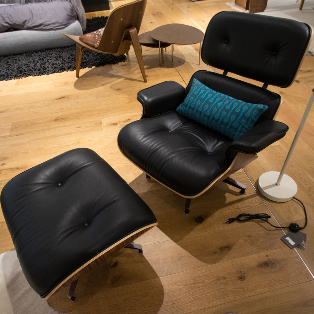 DWR Eames Lounge Chair and Ottoman