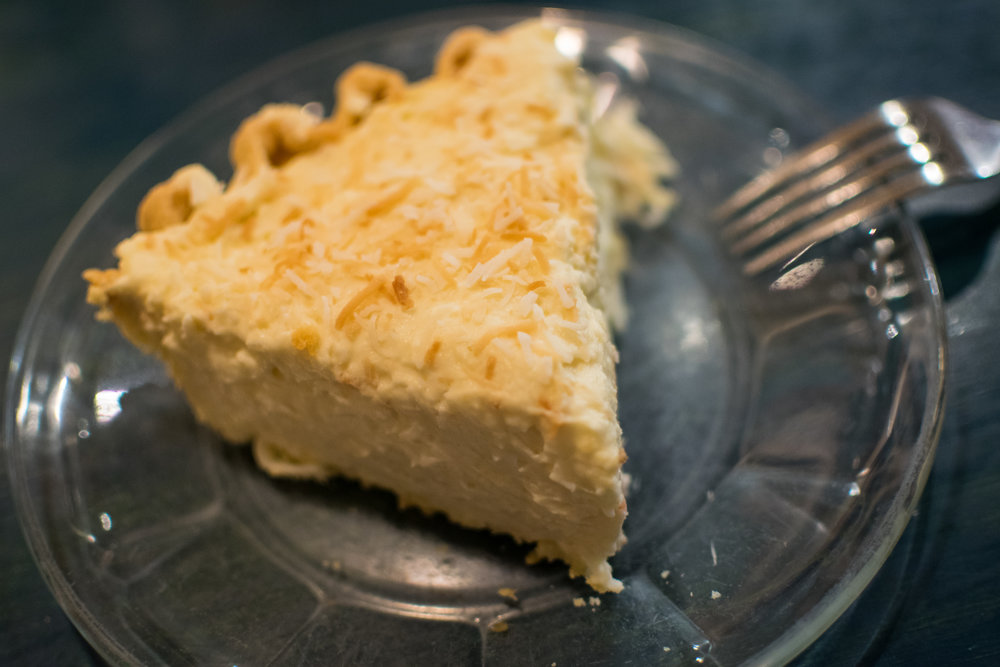 My beloved coconut cream pie
