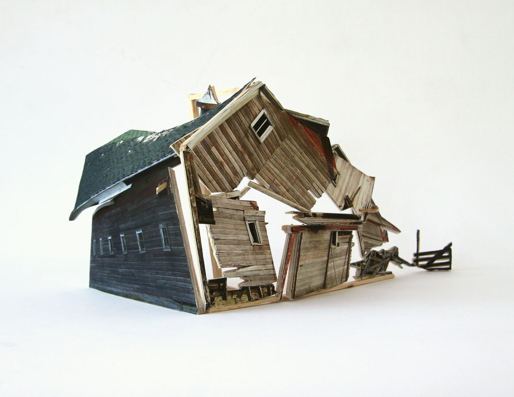 Broken Assembled House #2, 2010
