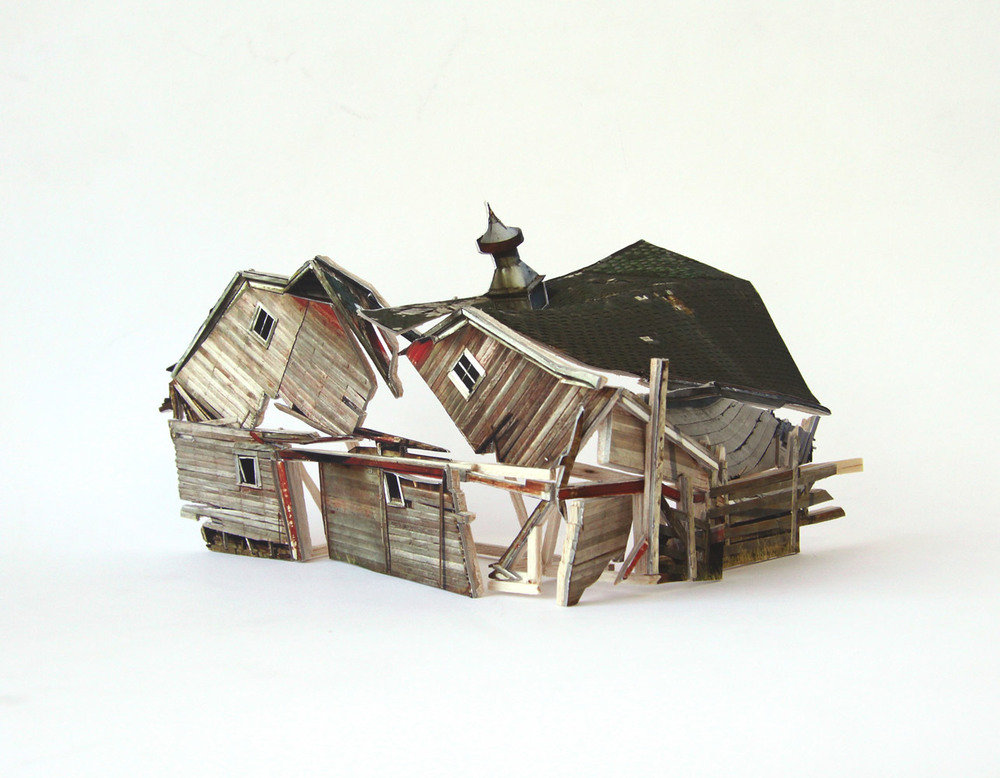 Broken Assembled House #1, 2010