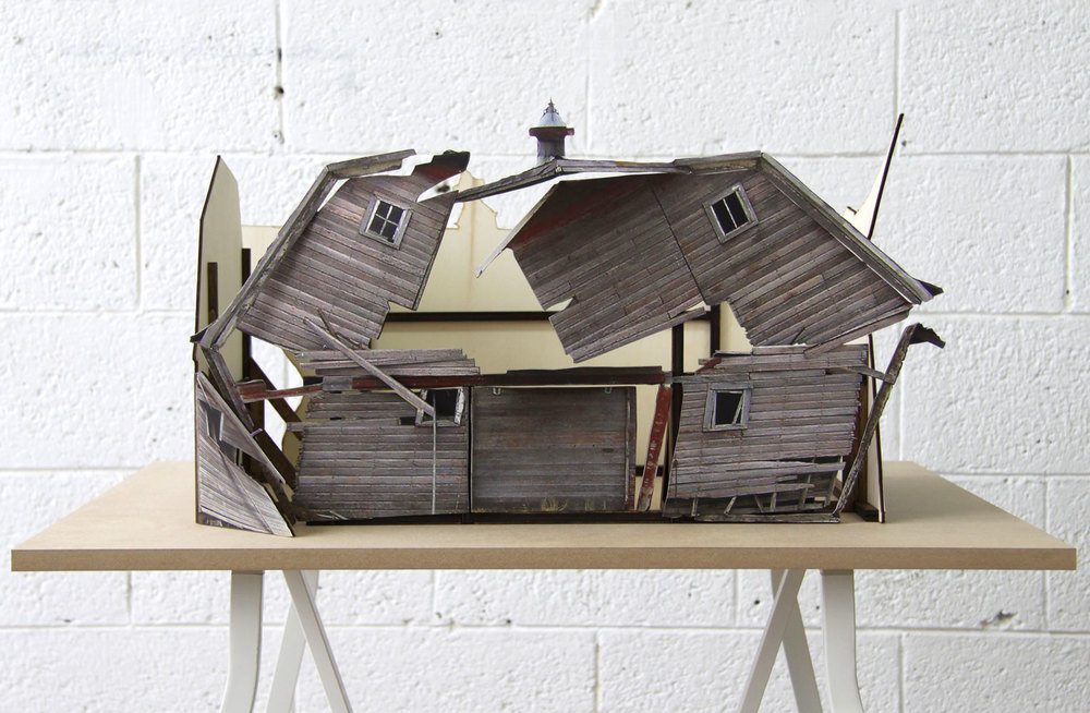 Broken Assembled House #3, 2010