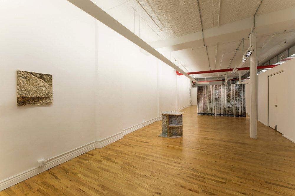 Installation view at Hercules Gallery, November 2017