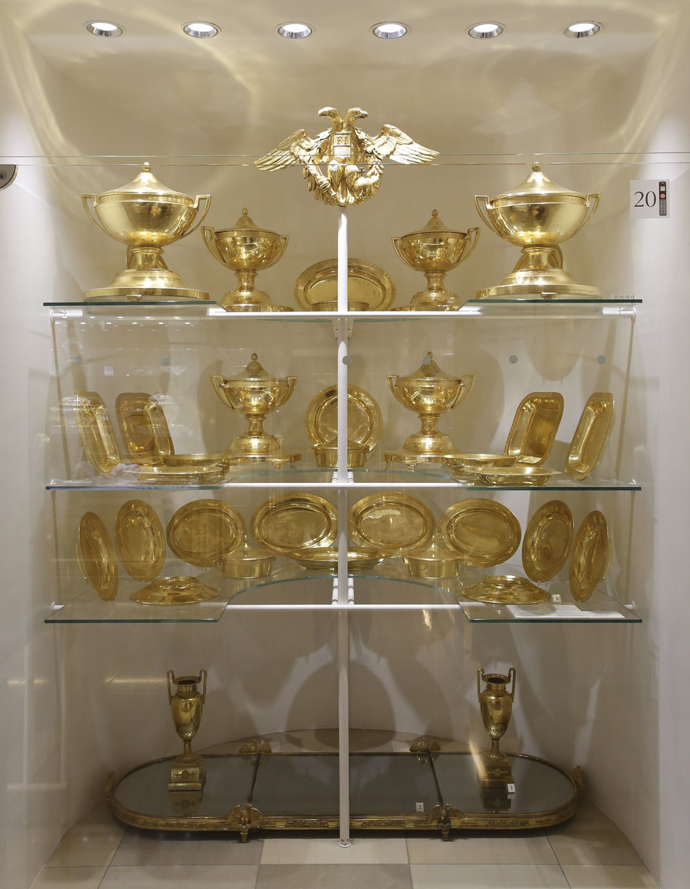 Silver collection at Hofburg