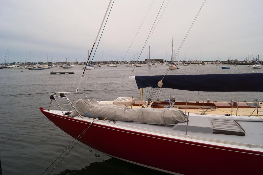 boat in newport