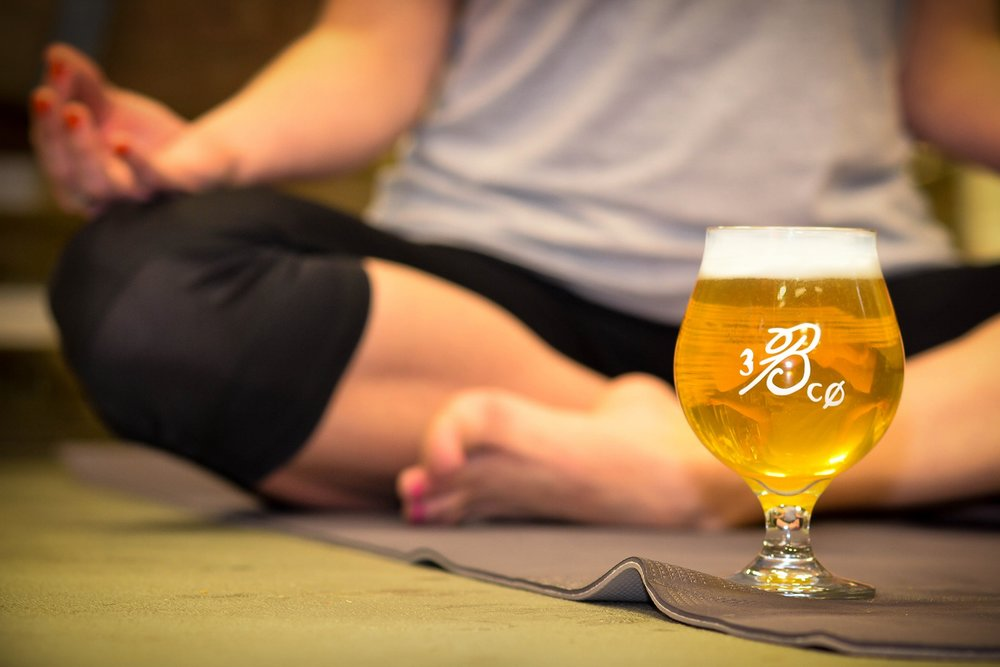 yoga and beer bond brothers beer company