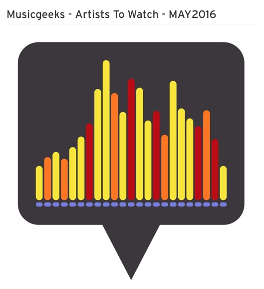 DANAE Featured on Musicgeeks - Artist To Watch - MAY2016