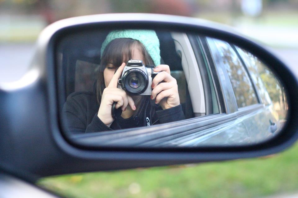 Me, taking a picture of myself circa 2010.