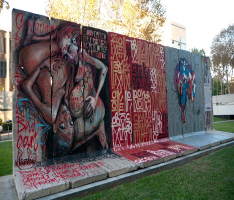 BEHIND THE BERLIN WALL