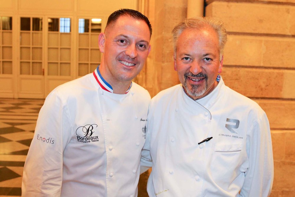 CHEF OF NOTE FRANÇOIS ADAMSKI AND JOHN SEDLAR
