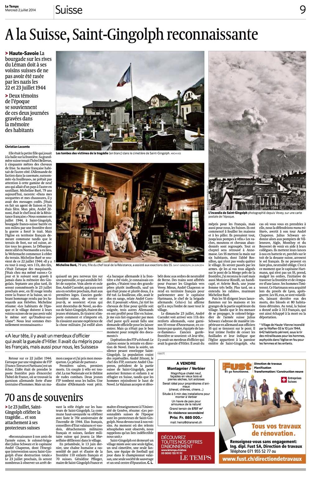 Le Temps 2 juillet 2014.jpg