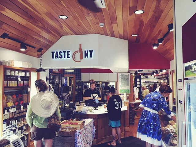 We're excited to be a part of the @TasteNY family of food and beverage products crafted in NY. This is the market at Todd Hill on the Taconic Parkway. Pick up a bottle of Toma on your way upstate this weekend! #drinktoma