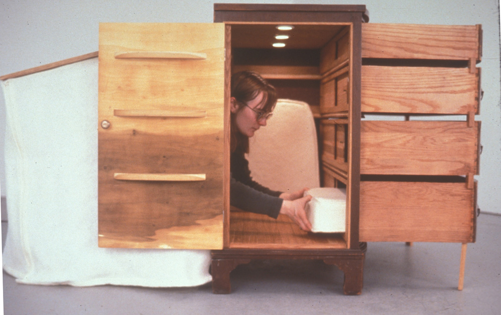 Bureau / Living Space, 2000