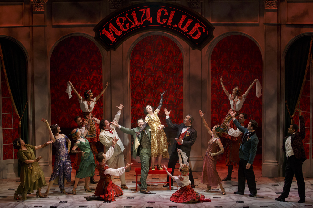 Photo by Joan Marcus Featuring the Hartford Stage Company cast of ANASTASIA