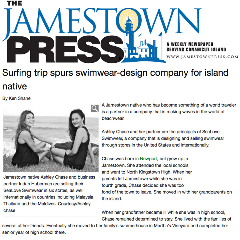 Jamestown press