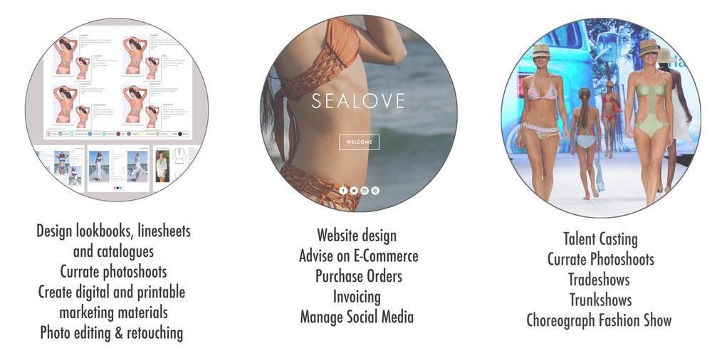 AshleyCassandra Appareldesign swimweardesign productdevelopment marketing branding photoediting lookbooks linesheets