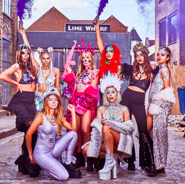NUMBER 1  - THE LOOK: MISSFIT SQUAD GOALSLOCATION: GIRL PARTY WHEN: 2017  MODELS: MIKA FRANCIS, TIGER LILLY, SKYE PETRIE, GINI MISSELBROOK, SOPHIA MORENO, YANA ILIEVA, LOTTIE GELIOT & PATRICIA MONARCA GYPSY SHRINE PRODUCTS USED: SHOP THE WEBSITE