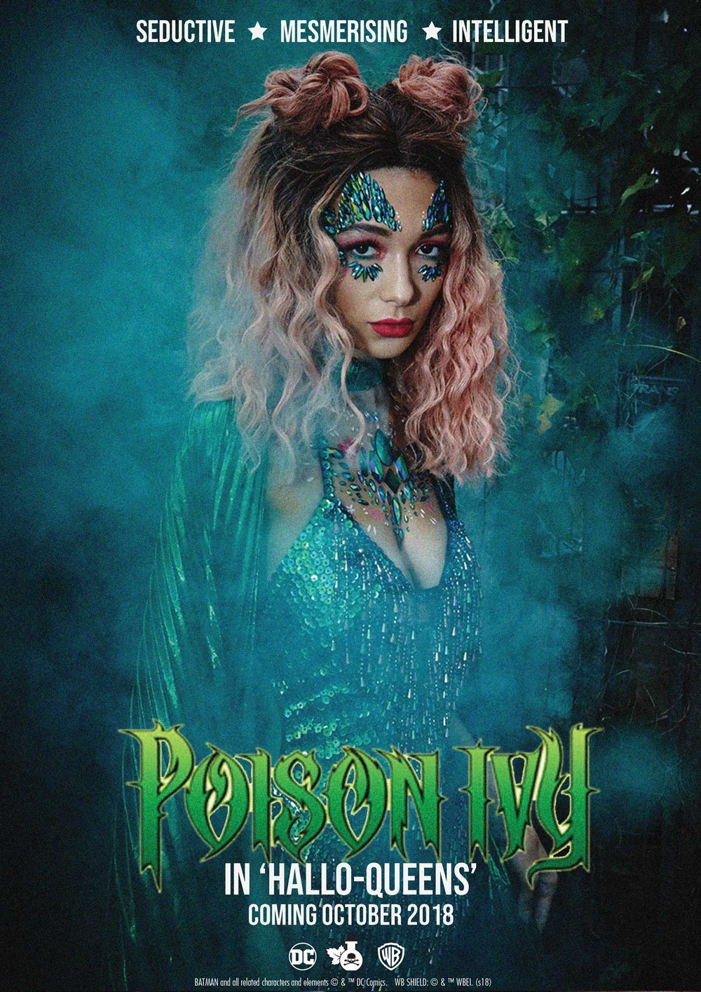 POISON IVY - Her alluring beauty and intelligence are no match for anyone! Poison Ivy is the ultimate eco-warrior babe! This gal likes to be in control!