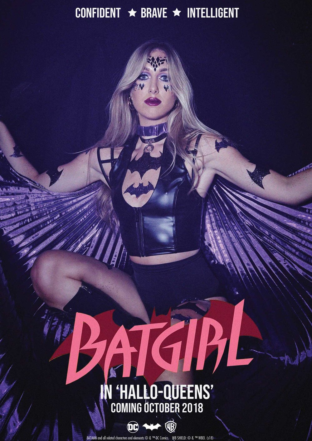 Bat Girl - Meet Bat Girl, the ultimate crime fighting bae and the Queen of Gotham City! She's confident, brave and intelligent!