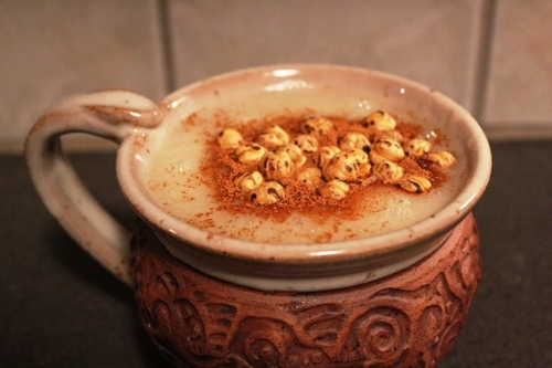 Boza in a mug. Photo from ikeskitchen.com