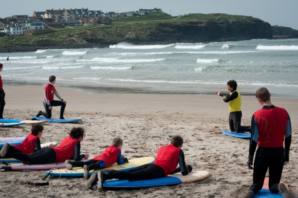 Alive Surf School at The West Strand