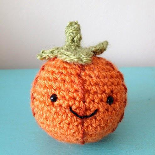 Free Amigurumi Pumpkin Crochet Pattern