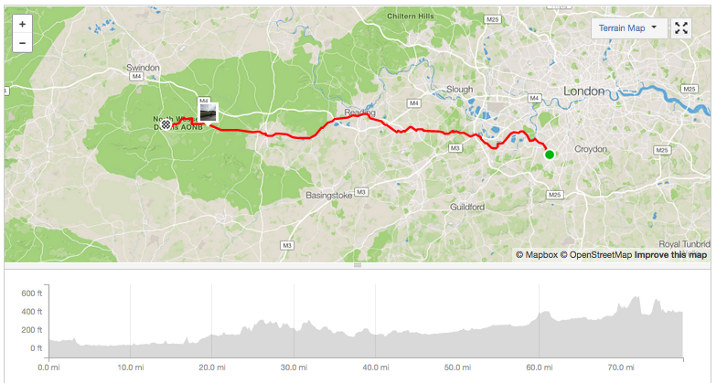Day 1: London to Marlborough
