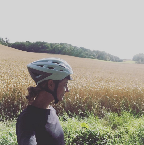 Close to Marlborough. Helmet: Lumos.