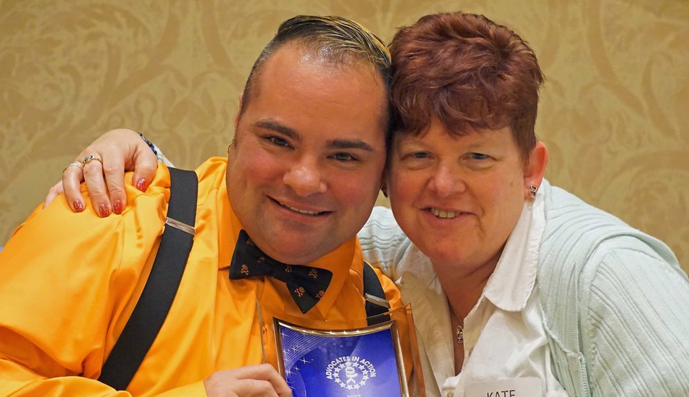 Andrew Palumbo and Kate Mainor-Goodness 2017 Leadership Award edited.jpg