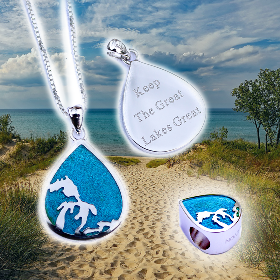 Keep the Great Lakes Great - The newest collection by Evon is here!Shop Now →